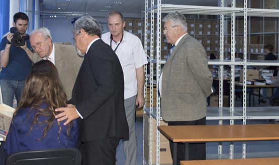 Vizită Prof. Univ. Dr. Gheorghe Sbârnă în cadrul S.C. Stefadina Comserv S.R.L.