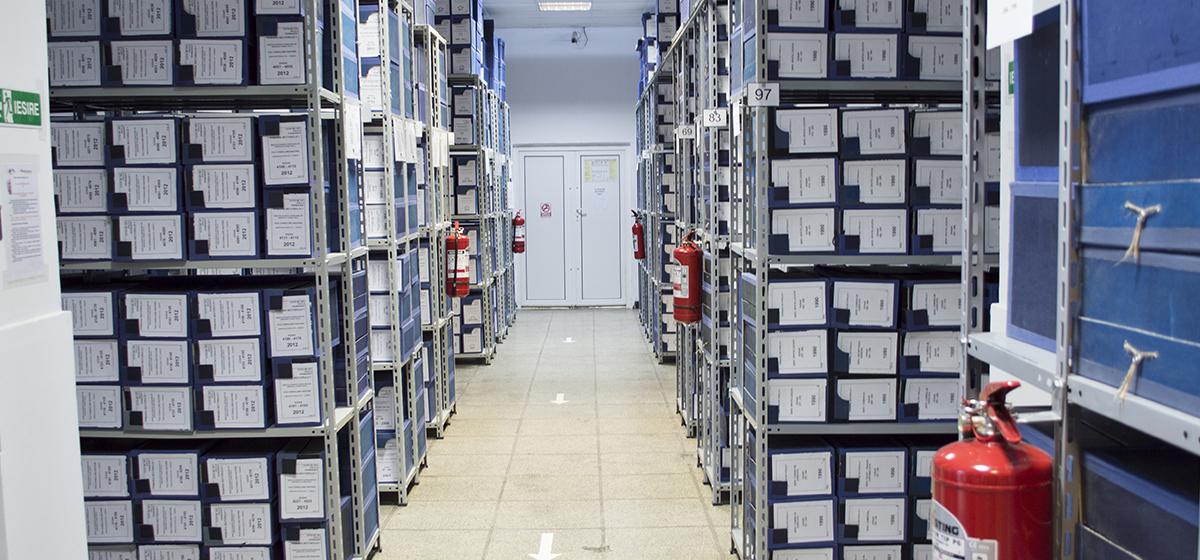 Stockage et Gestion d`archives
