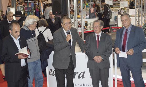 Lansarea cărții Prof. Univ. Dr. Ioan Scurtu în cadrul Romexpo