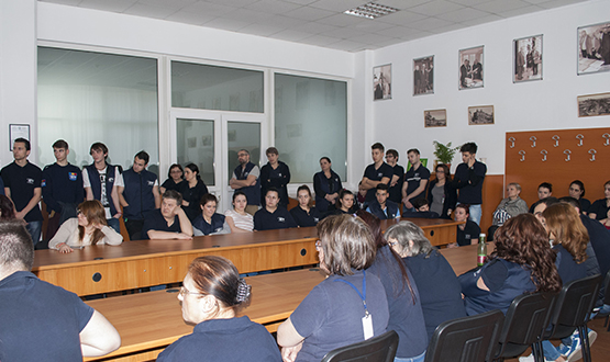 Vizită Prof. Dr. Pavel Chirilă în cadrul S.C. Stefadina Comserv S.R.L.