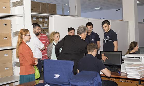 Vizită A.N.F.P. în cadrul S.C. Stefadina Comserv S.R.L.