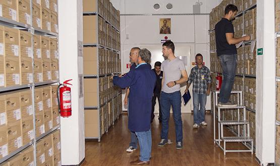 Vizită din partea Universității București în vederea stabilirii stagiului de practică