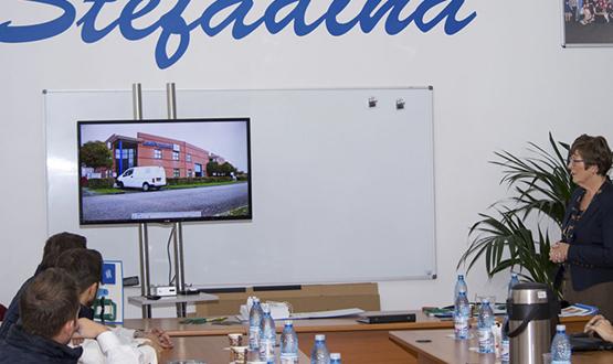 Vizită reprezentanți Loeff's Patent Archief Systeem la sediul S.C. Stefadina Comserv S.R.L.