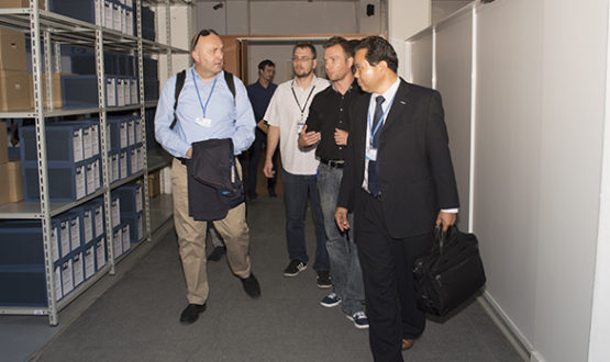 Vizita reprezentanţilor Companiei Panasonic
