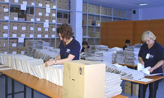 Selecţionarea documentelor
