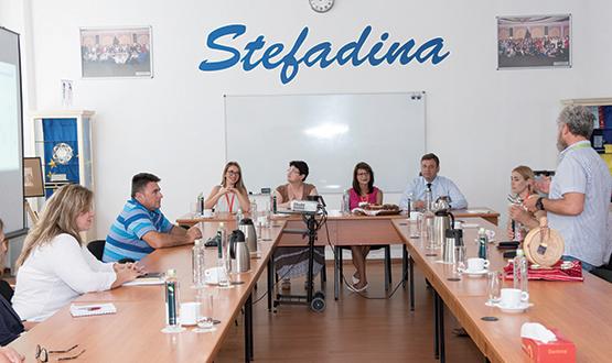 Vizită reprezentanți Senatul României
