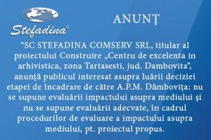 Firma de arhivare Stefadina