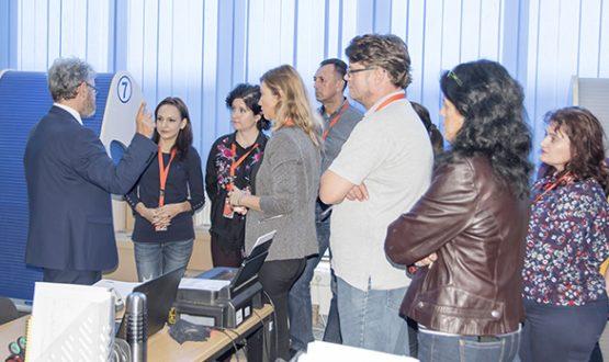 Vizită din partea cursanților programului de formare profesională-Arhivist