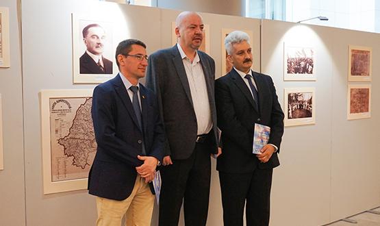 Expoziţie foto ,,România Europeană – o consecinţă a Marii Uniri de la 1918″, Bruxelles
