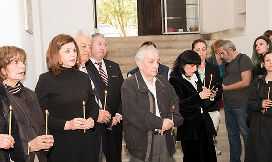 Deposit Ceremony of mortal remains belonging to Maria Brătianu